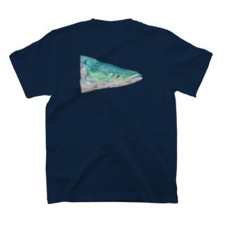 油彩風 ピラルク T-shirts