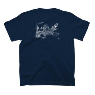 アマビエさん(背面バージョン) T-shirts