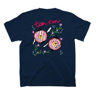tontonスカジャンデザイン風 T-shirts
