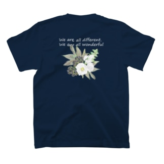トルコキキョウ wonderful ver. 濃い色 T-shirts