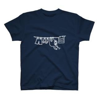 ナマケモノの洗濯 T-shirts