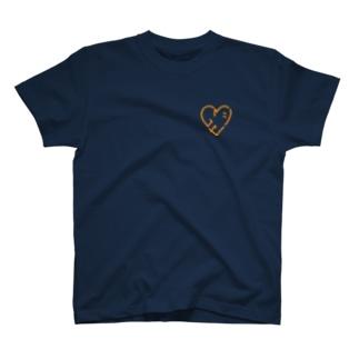 シアワセハ〜ト T-shirts