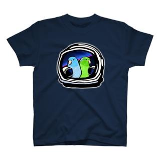マメルリハ ミーツ アストロノーツ T-shirts