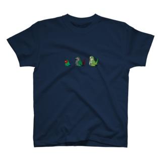 トリオdeインコ T-shirts