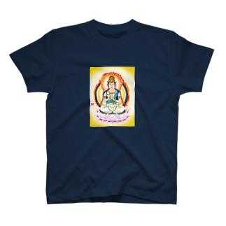 comnet-designの大日如来-2 T-shirts
