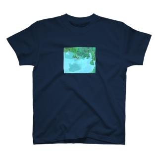 隠れパンダ T-shirts