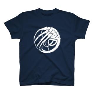 SF家紋「顔に壽海老」 T-shirts