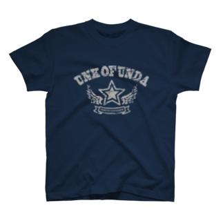 UNK OF UNDA(★カレッジグレー) T-shirts
