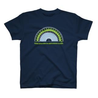 カラー分度器(ネイビー向き) T-shirts