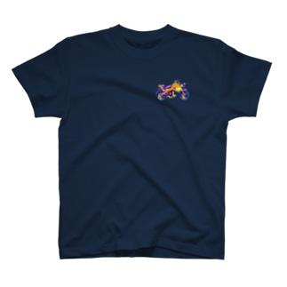 チーターバイク T-shirts