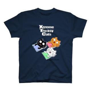 ネコ兄弟 tXTC_48 T-shirts