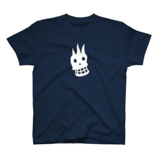 ドクロマーク濃い色用 T-shirts