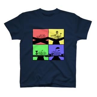 何字路 T-shirts
