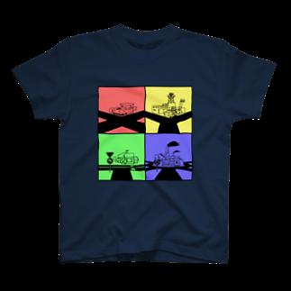 家電凌販 鴫野店の何字路 T-shirts