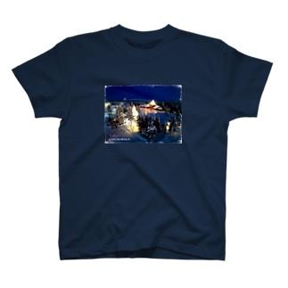 サンタの住む村 T-shirts