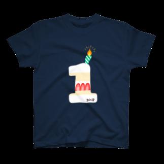 ゆきんこのはじめてのおたんじょうび T-shirts