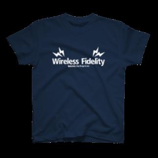 lifefilのWi-Fi (deep color) T-shirts