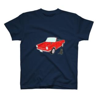 あしあと T-shirts