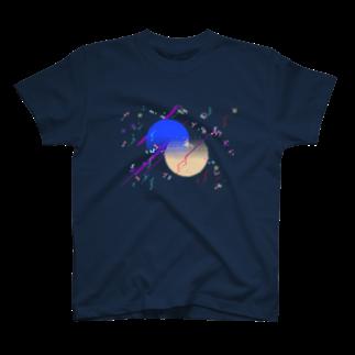 退化現象 硯出張所のPixel Color Composition Ⅰ(NoBack) T-shirts
