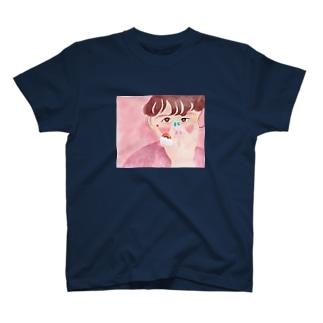 モデル : ゆりっぱ T-shirts