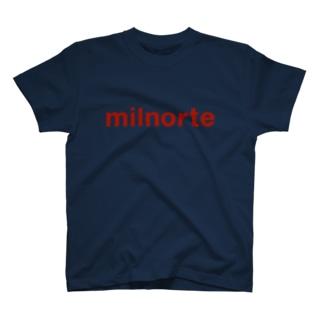 赤色ロゴ T-shirts
