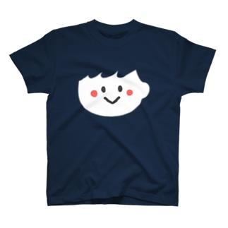 ふわっと男の子顔T T-shirts