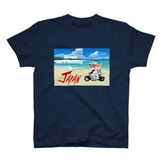 にゃんこライダース Tシャツ