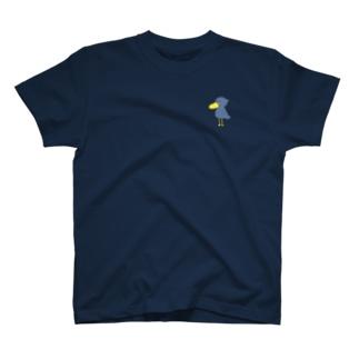 ハシビロコウ T-shirts