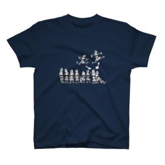 将棋の歩と桂馬らへん T-shirts