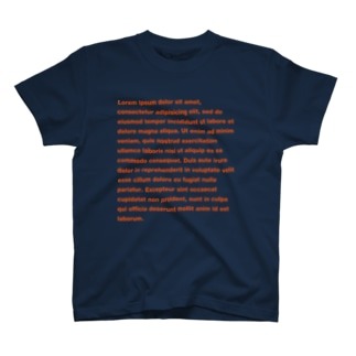 DUMMY TEXT T-shirts