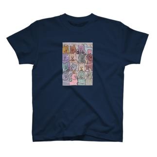 KAZUHIROSHOPのmanner bear T-shirts