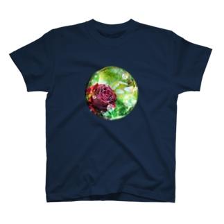 夢見るローズ T-shirts