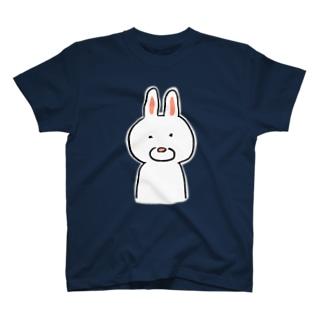 シンプルなうさぎ T-shirts