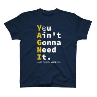 ぼっちの会 YAGNIなヤツら T-shirts
