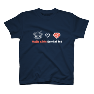 Rails Girls JapanのRails Girls Sendai 1st T-shirts