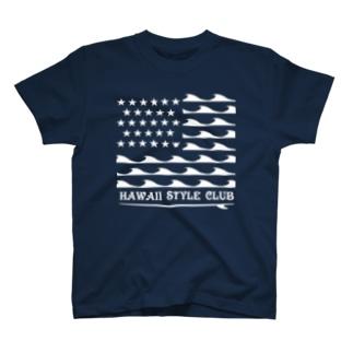 STARS AND NALU  WHT LOGO T-shirts