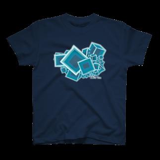 hironoのフローライト_蛍石 T-shirts