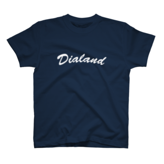 DIALAND LOVERSのTEAM DIALAND WHITE T-shirts