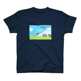 ウォンバットのはらぺこアドベンチャー T-shirts