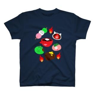 和菓子妖怪🍡アップ T-shirts