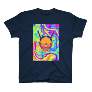 ATELIER FEEL LIKEのHANNYA~般若~ 山吹 T-shirts