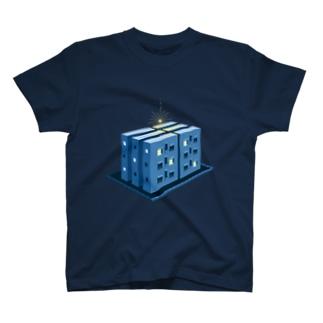 星の落ちるマンション T-shirts