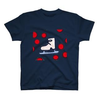 JAPANイメージスケート靴 Tシャツ