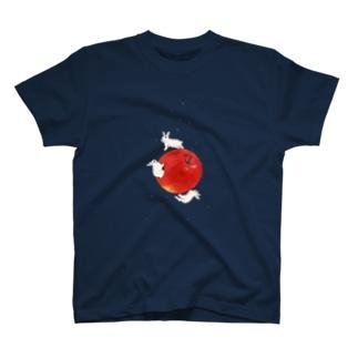 アップル・プラネット T-shirts