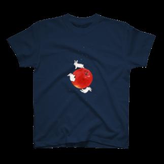 SCHINAKO'Sのアップル・プラネット T-shirts