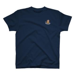 ロープ応用登はん結索にゃんこ T-shirts