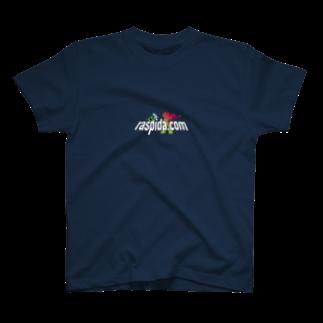 ラズパイダのラズパイダURLロゴ-P3 T-shirts