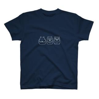 Hipporaccowl(ヒポラカウル)白 T-shirts