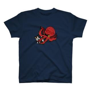 じゃっさん vs たこ T-shirts