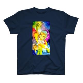 ギャラクシーィィ T-shirts